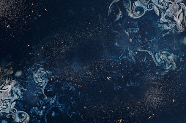 Abstrakter hintergrund der blauen rauchigen kunst