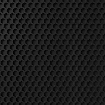 Abstrakter hintergrund der hexagonform
