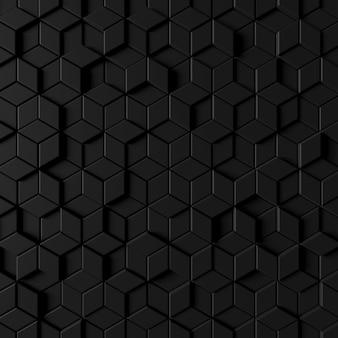 Abstrakter hintergrund der modernen fliesenwand. 3d-rendering.