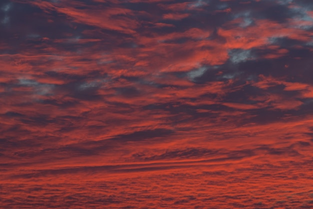 Abstrakter hintergrund der roten wolke der beschaffenheit