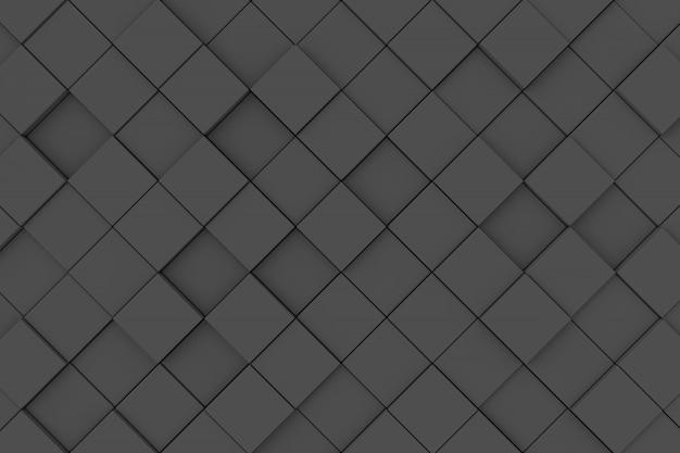 Abstrakter hintergrund der würfel. 3d-rendering.