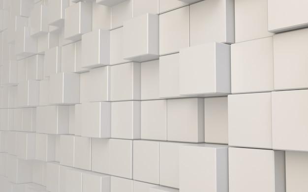 Abstrakter hintergrund des 3d-rendering-würfels