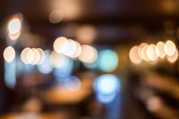 Abstrakter hintergrund des cafés, geringe schärfentiefe