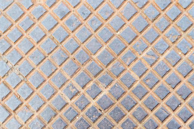 Abstrakter hintergrund des diagonalen quadrats oder des diamantenmusters.