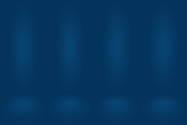 Abstrakter hintergrund des farbverlaufs blau.