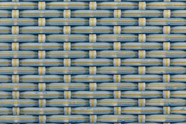 Abstrakter hintergrund des gewebten bambusmusters