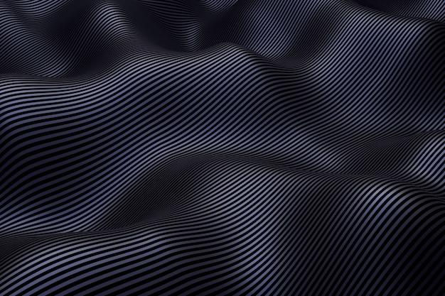 Abstrakter hintergrund des metallic. 3d-rendering.