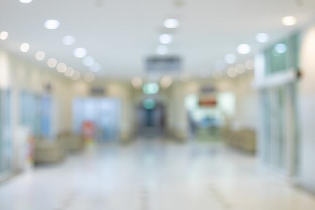 Abstrakter hintergrund des modernen büroinnenraums