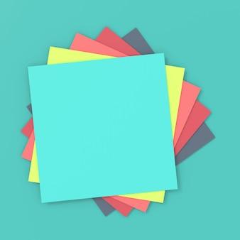 Abstrakter hintergrund des papiers. 3d-rendering.