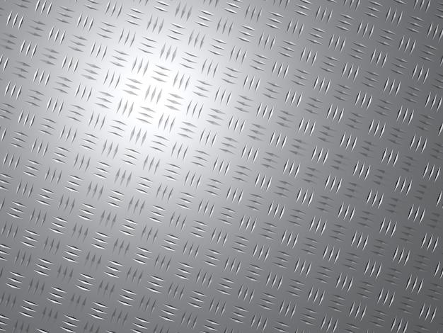Abstrakter hintergrund einer glänzenden metallplatte