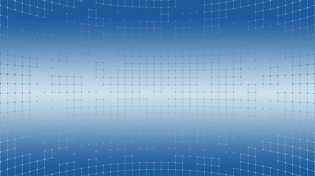 Abstrakter hintergrund eines gitters der quadrate.