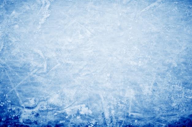 Abstrakter hintergrund - hockeymarkierungen auf eis