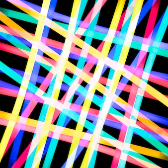 Abstrakter hintergrund mit bunten lichtern