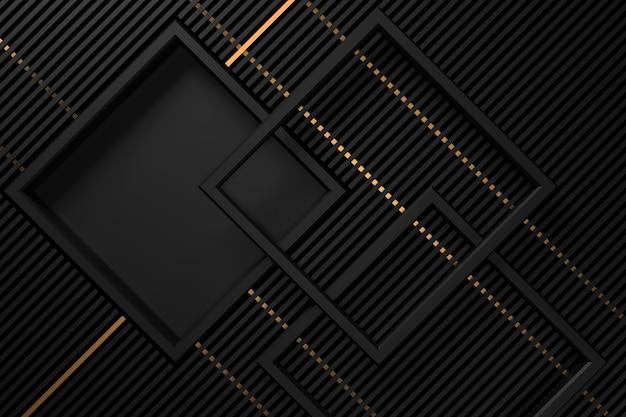 Abstrakter hintergrund mit dunkelheitskonzepten. 3d-rendering.