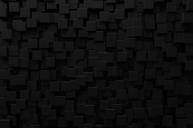 Abstrakter hintergrund mit dunklem konzept. 3d-rendering.