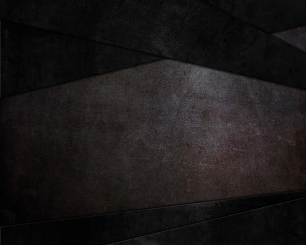Abstrakter hintergrund mit dunklen grunge-stil texturen