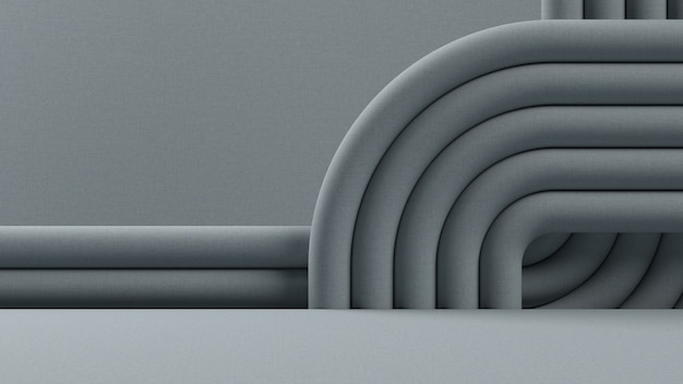 Abstrakter hintergrund, mock-up-szene für produktanzeige