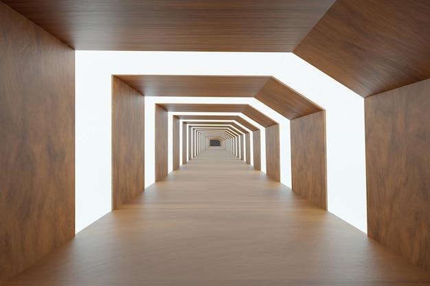 Abstrakter hintergrund, modernes design, 3d-rendering