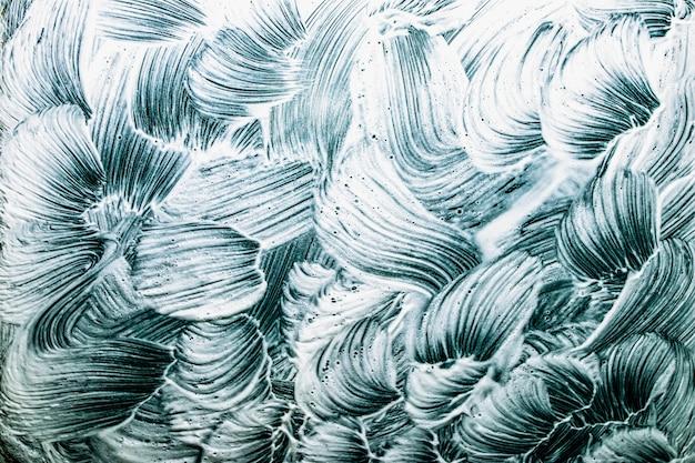 Abstrakter hintergrund. pinselstriche auf einem chen-hintergrund. klare grenzen. handarbeit mit einem pinsel.