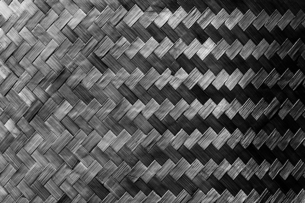 Abstrakter hintergrund vom dunklen hölzernen gesponnenen verziert auf wand