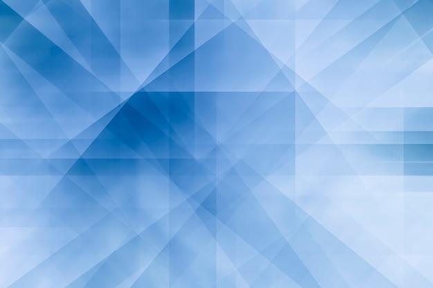 Abstrakter hintergrund von den linien und von der form im weißen und blauen hintergrund.