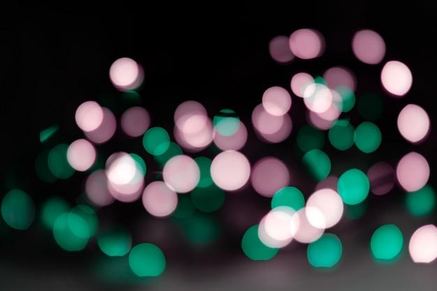 Abstrakter hintergrund von neonlichtern.