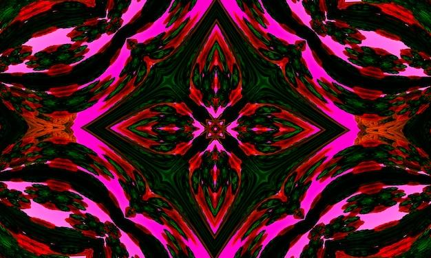 Abstrakter kaleidoskophintergrund. nahtloses muster des schönen kaleidoskops. bunte mosaiktextur. nahtlose kaleidoskop-textur.