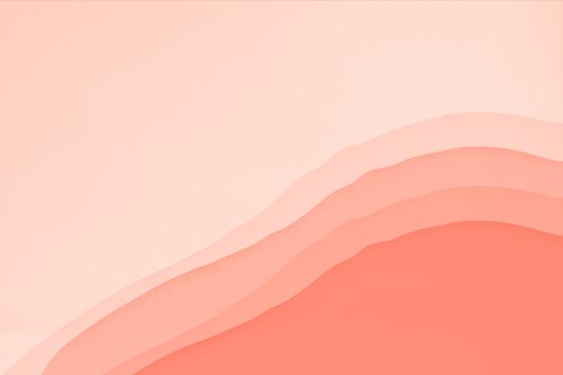 Abstrakter korallenroter farbhintergrund