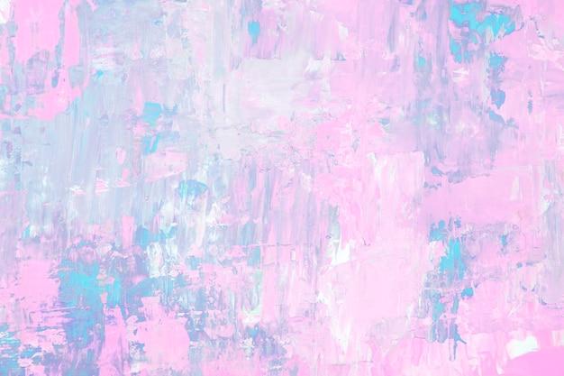 Abstrakter kunsthintergrund, strukturierte acrylfarbe mit heller farbtapete
