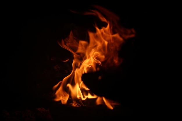 Abstrakter lagerfeuer-hintergrund
