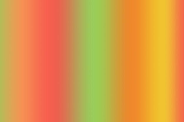 Abstrakter lebendiger farbhintergrund mit gradienten-ringelblumen-orange und lindgrünen vertikalen streifen vertical