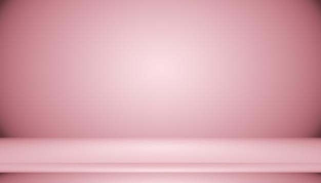 Abstrakter leerer glatter hellrosa studioraumhintergrund, verwendung als montage für produktpräsentation, banner, vorlage.