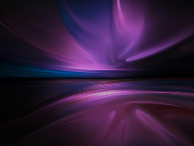 Abstrakter lila chromhintergrund