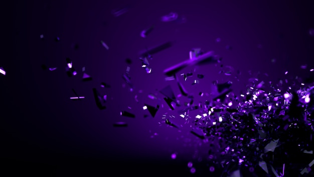 Abstrakter lila dunkelblauer hintergrund