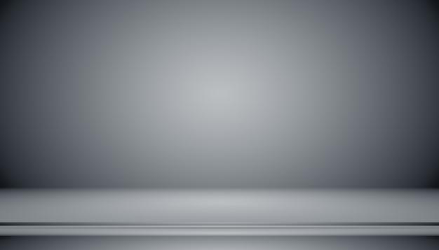 Abstrakter luxuriöser schwarzer farbverlauf mit randvignettenhintergrund studiohintergrund - gut als hintergrundhintergrund, studiohintergrund, farbverlaufsrahmen verwenden