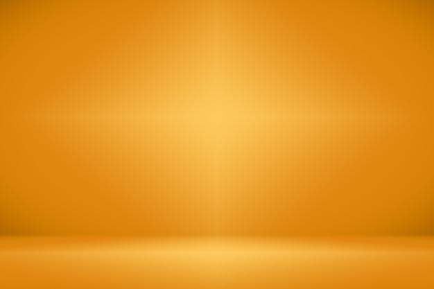 Abstrakter luxus-gold-studiobrunnengebrauch als hintergrund, plan und darstellung.
