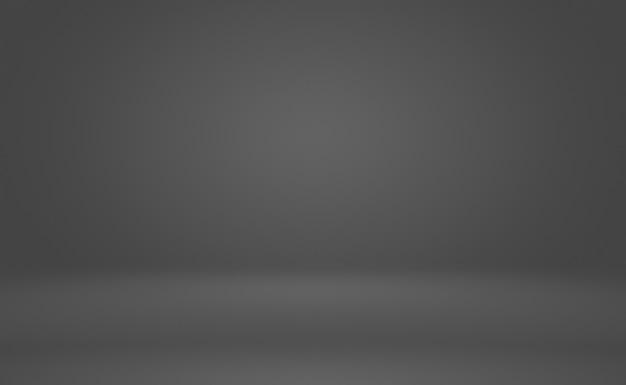 Abstrakter luxus-unschärfe dunkelgrauer und schwarzer farbverlauf, der als hintergrundstudiowand für die anzeige ihrer produkte verwendet wird.