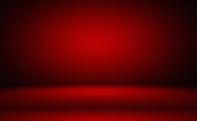 Abstrakter luxus weicher roter hintergrund weihnachten valentines layout-design, studio, zimmer, web-vorlage, geschäftsbericht mit glatter kreisverlaufsfarbe
