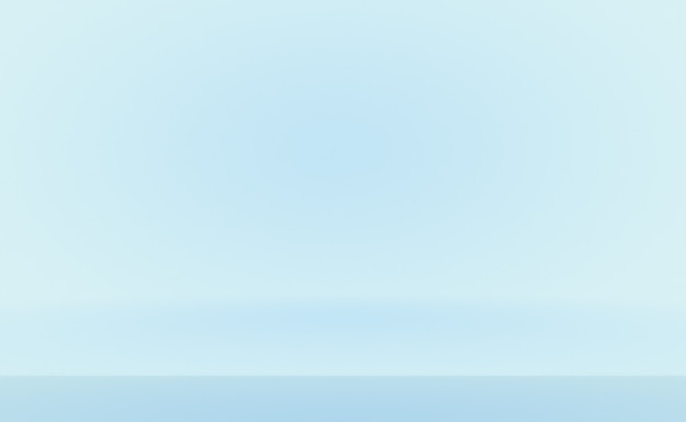Abstrakter luxusverlauf blauer hintergrund. glattes dunkelblau mit schwarzer vignette.