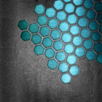 Abstrakter metallbeschaffenheitshintergrund