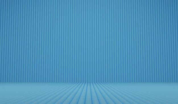 Abstrakter minimalistischer 3d rendern modernen hintergrund mit linienröhren