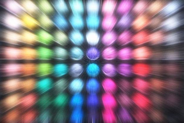 Abstrakter multi farbhintergrund mit zoomeffekt.