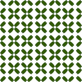 Abstrakter nahtloser grüner farbblumenhintergrund