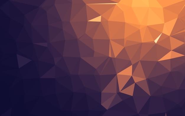 Abstrakter niedriger polyhintergrund, geometriedreieck.