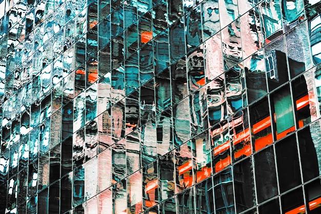 Abstrakter nyc hintergrund