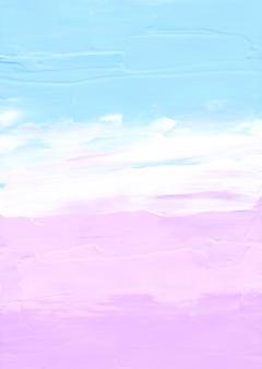 Abstrakter pastellblauer, rosa und weißer strukturierter hintergrund