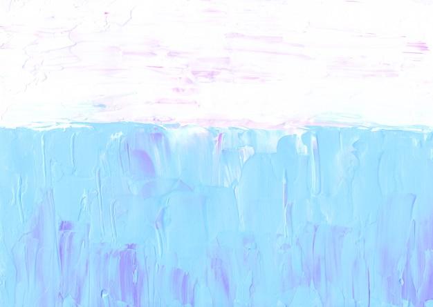 Abstrakter pastellrosa, blauer und weißer hintergrund