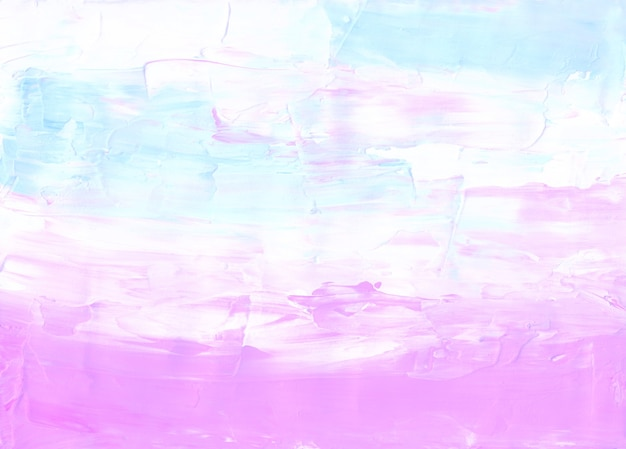 Abstrakter pastellrosa, blauer und weißer strukturierter hintergrund
