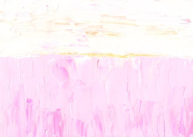 Abstrakter pastellrosa, gelber und weißer strukturierter hintergrund