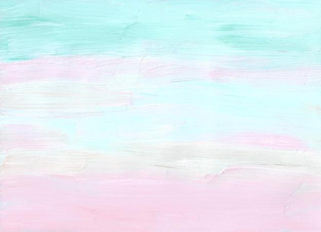 Abstrakter pastellrosa, weißer, blauer, grüner hintergrund